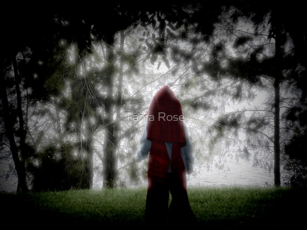 Red Hood Waiting by Tania Rose