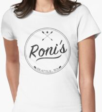 OUAT | Roni's Bar Women's Fitted T-Shirt