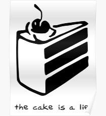 Póster El pastel es una mentira