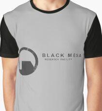 Camiseta gráfica Instalación de investigación de Black Mesa