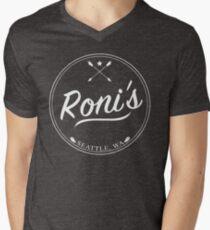OUAT | Roni's Bar (White) Men's V-Neck T-Shirt