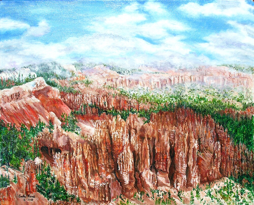 Bryce Canyon II by Emily Reed