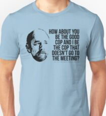 """Toby Ziegler """"Good Cop/No Cop"""" Tee Unisex T-Shirt"""