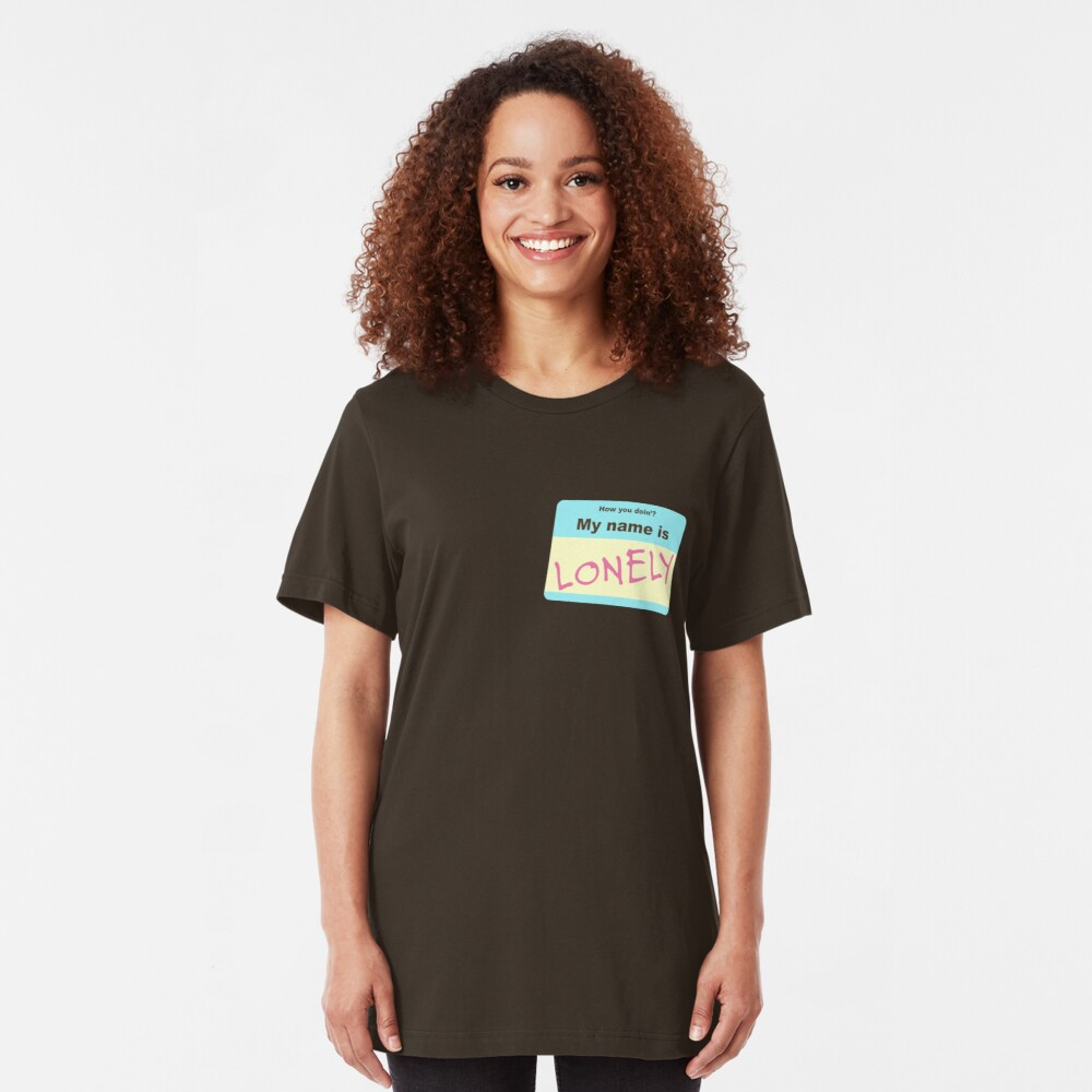 Lonely - Tyler, The Creator Slim Fit T-Shirt