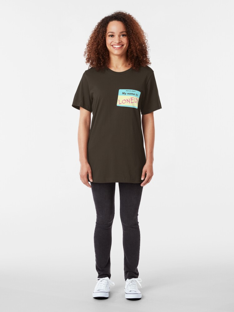 Alternate view of Lonely - Tyler, The Creator Slim Fit T-Shirt
