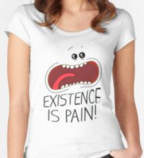 Existence Is Pain T Shirt Limited Edition Women's Fitted Scoop T-Shirt