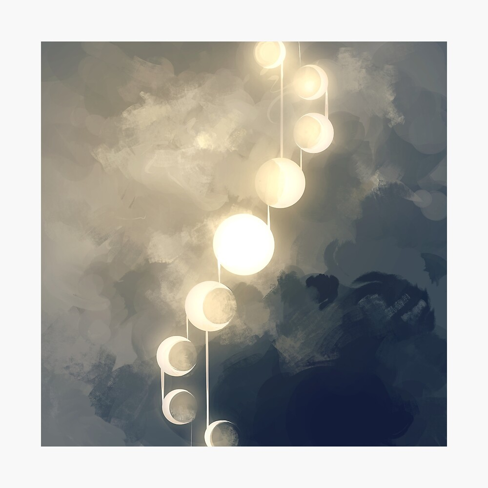 fases Lámina fotográfica