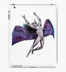 ICARUS THROWS THE HORNS - purple overdose NEW iPad Case/Skin