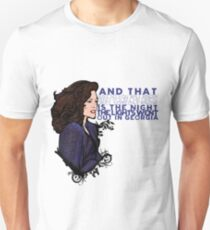 Julia Sugarbaker Unisex T-Shirt