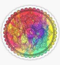 Ohm Mandala Sticker