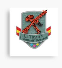 El Tigre's Paintball School Canvas Print