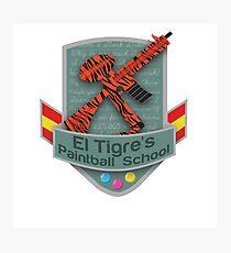 El Tigre's Paintball School Photographic Print