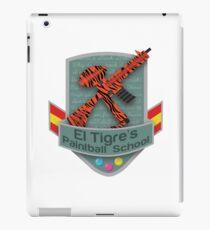 El Tigre's Paintball School iPad Case/Skin