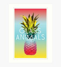 Glass Animals Tour Poster Art Print