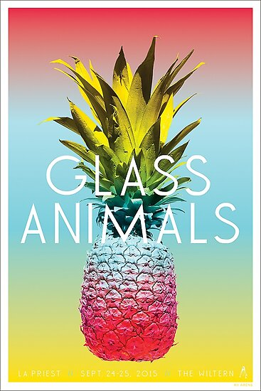 'Glass Animals Tour Poster' Poster by transprince