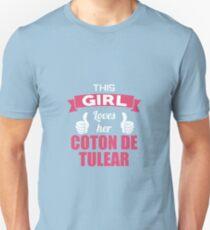 This Girl Loves Her Coton De Tulear T-Shirt