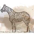 History of the American Quarter Horse in Typography by Ginny Luttrell