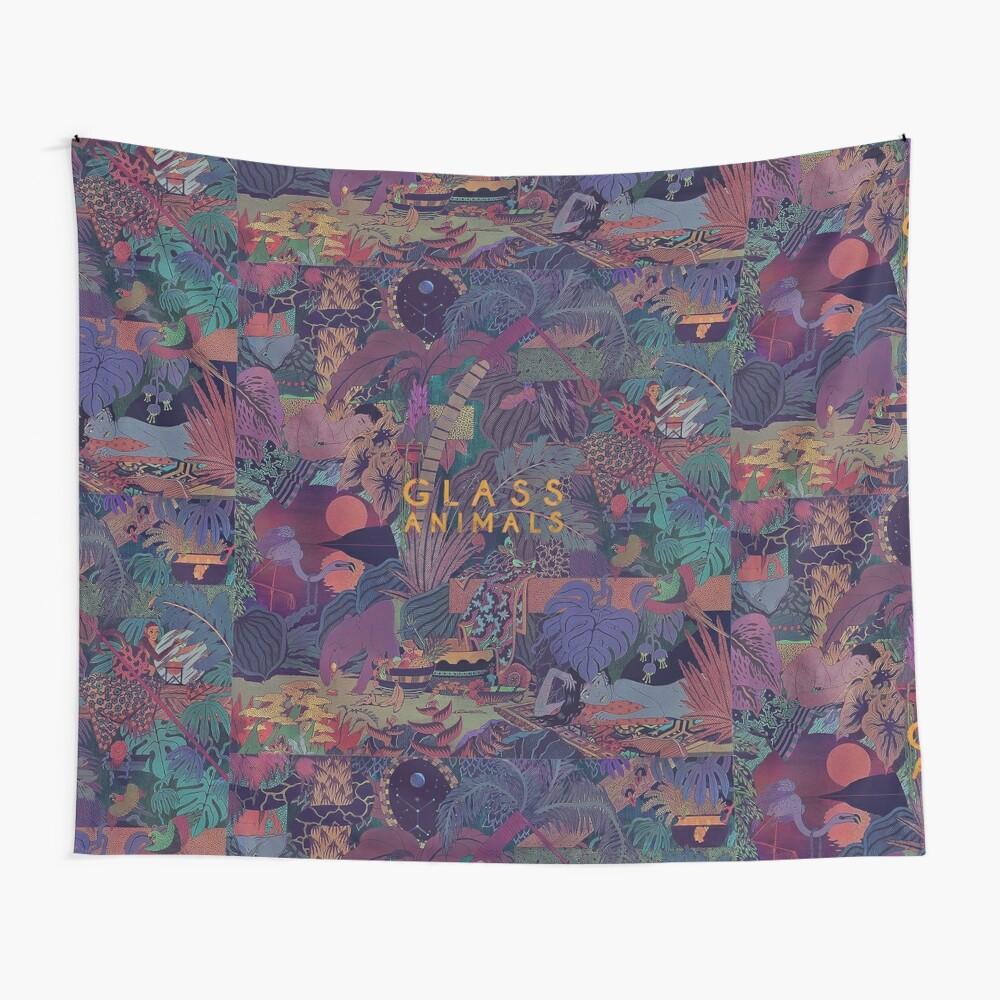 Glass Animals Zaba Wall Tapestry