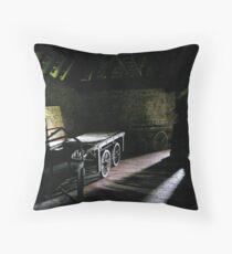 Handcart Throw Pillow
