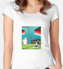 Edacious Women's Fitted Scoop T-Shirt