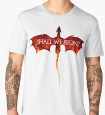 Shall we begin? Men's Premium T-Shirt