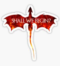 Shall we begin? Sticker