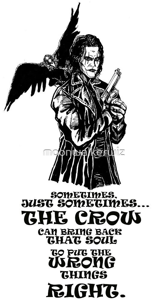 The Crow: Eric Draven by moonwalkerwiz