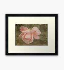 Faded Love ~ I Still Think of You...  Framed Print