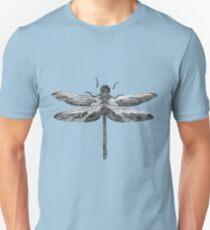Dragonfly line drawn mosaic T-Shirt