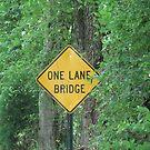 One Lane Bridge by Cleburnus