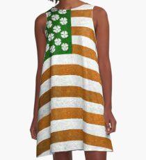 Irish American 015 A-Line Dress
