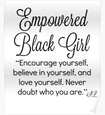 Black Queen power Poster