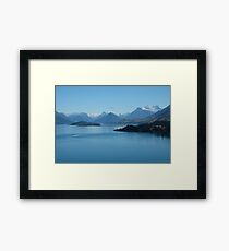 Lake Wakatipu, Queenstown, New Zealand Framed Print