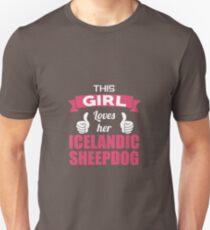 This Girl Loves Her Icelandic Sheepdog T-Shirt