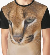 African Caracal Graphic T-Shirt