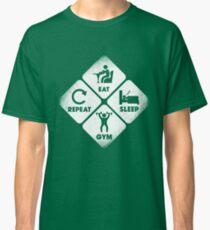 Eat, Sleep and Gym Classic T-Shirt