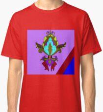 Fleur de Lis with Maroon Bow Classic T-Shirt