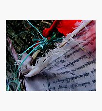Texture of Prayer   (Limited Edition Print of 50) Photographic Print