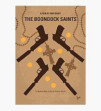 No419- BOONDOCK SAINTS minimal movie poster Photographic Print