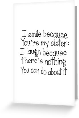 Perfect Gift For The Sister In Your Life Fun Sister Gift And