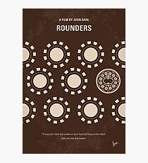 No503- Rounders minimal movie poster Photographic Print