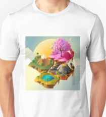 floating islands in the sky T-Shirt