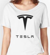 new tesla motors Women's Relaxed Fit T-Shirt