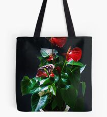 Anthurium andraeanum Tote Bag