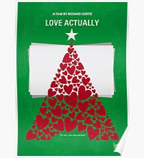 No701- Love Actually minimal movie poster Poster
