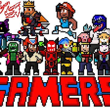 Gamers by InfernoSDarts