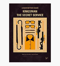 No758- Kingsman minimal movie poster Photographic Print