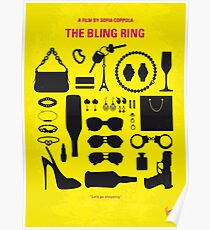 No784- The Bling Ring minimal movie poster Poster