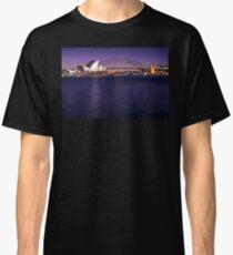 Postcard Sydney Waterfront View Classic T-Shirt