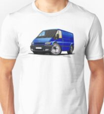 Ford Transit (Mk5) Blue T-Shirt